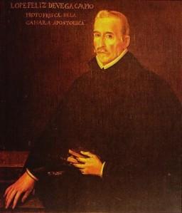 Imagen de Lope de Vega cuyo verso enmarca nuestra ponencia en el Congreso Nacional de Santander