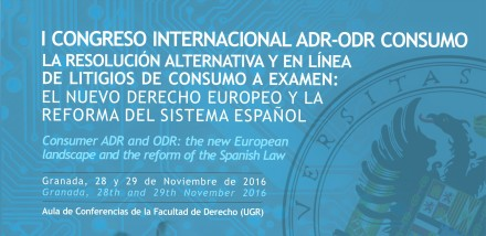 antonio j. almarza abogado comunicacion adcordis Congreso ODR consumo Granada cartel