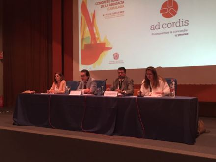 antonio j. almarza adcordis ponencia 12 Congreso Abogacía Malaga 1