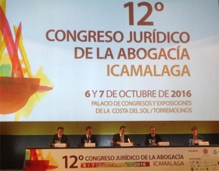 Antonio Jesus Almarza Garcia antonio j almarza abogado 12 Congreso Malaga Mesa inaugural