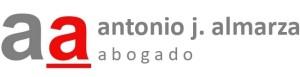 logotipo del despacho legal de antonio j. almarza abogado